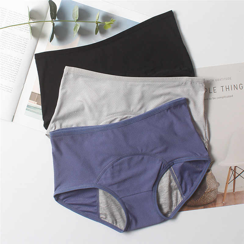 Solid Color Leakproof Period Panties