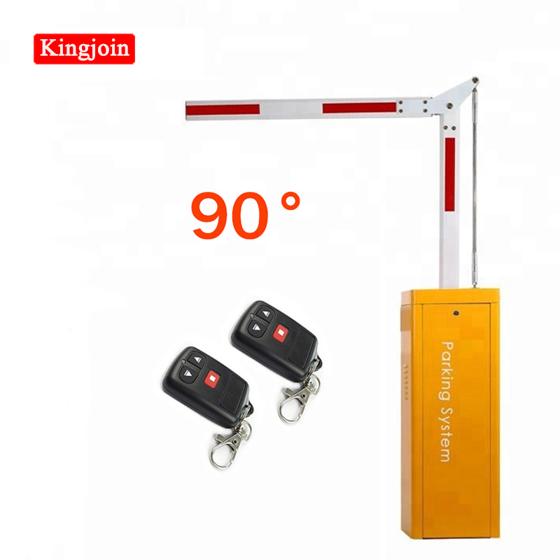 KINGJOIN New Economical 90 ° Railing Barrier Geely Lucky Red Parking Lot Security System Barrier Fence Gate Fence