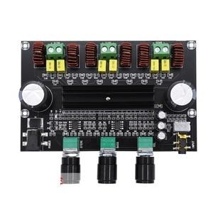 Image 2 - 80W+80W+100W 2.1 Channel TPA3116 digital Power Stereo Amplifier Board With Two NE5532 OP AMP TPA3116D2  Bass Subwoofer Amplifier