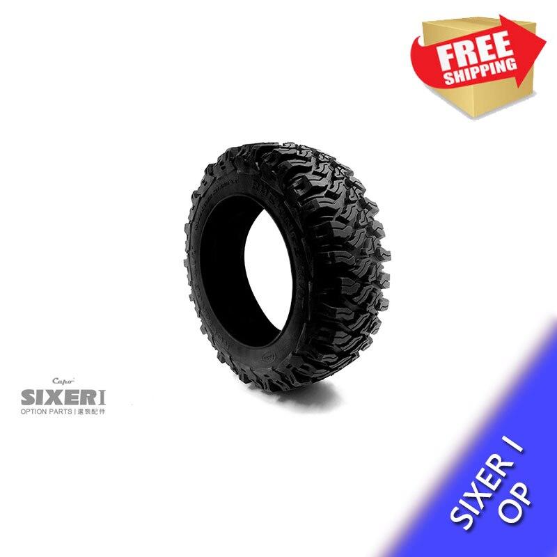 RC pneu sur chenilles un pneu Capo SIXER 1:6 Jimny samouraï 2.8 pouces option pièces