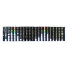Analisador de visor de espectro colorido led, analisador de 20 segmentos 10 níveis mp3 pc amplificador de nível de áudio indicador de música