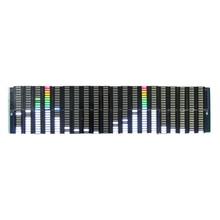 Analyseur daffichage de spectre de musique de LED coloré 20 Segments 10 niveaux amplificateur de PC MP3 indicateur de niveau Audio musique