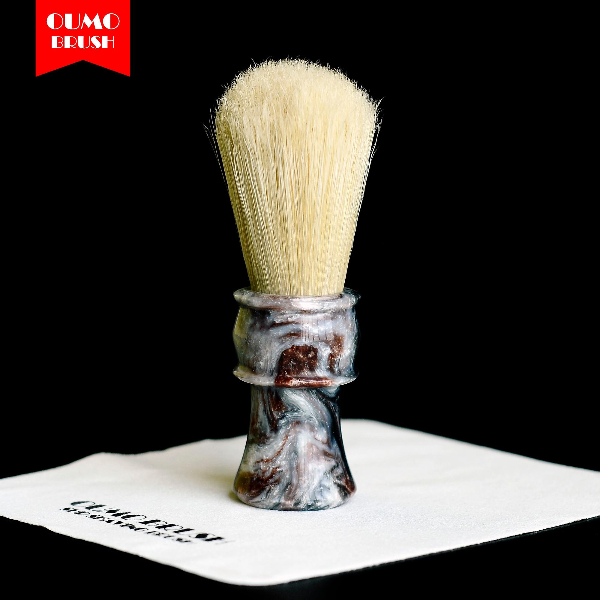 Image 5 - OUMO BRUSH  boar bristle hair knot boar shaving brush knot-in Shaving Brush from Beauty & Health