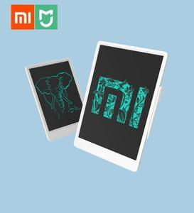Image 1 - Xiaomi Tableta de escritura LCD Original Mijia con bolígrafo Digital, dibujo electrónico, escritura a mano, tablero gráfico de mensajes, nuevo