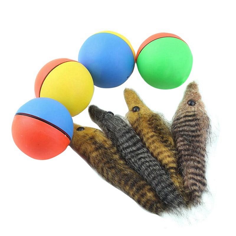 1 шт. игрушки для собак и кошек, Электрический бобер, игрушка горностай, прыгающие шарики, игрушки для собак, щенков, забавных подвижных игрушек, товары для домашних животных, случайные
