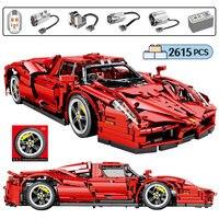 2615pcs City Remote Control Racing Car MOC Model Building Blocks for Technic RC Sports Car Creator Bricks Toys for Children Gift