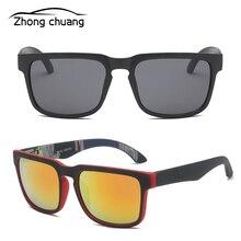 Новые Красочные светоотражающие солнцезащитные очки для езды на велосипеде