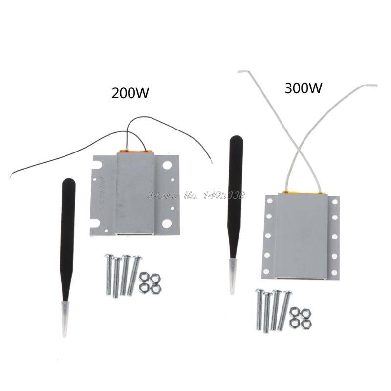 LED Remover Heating Soldering Chip Demolition Welding Station PTC Split Plate  200v 300v 200/300w 250 Degree Whosale&Dropship