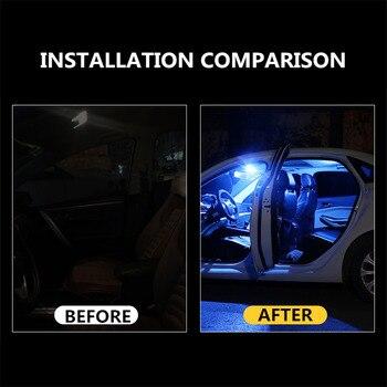 2PCS C5W LED CANBUS Festoon 36mm Error Free 3030 SMD LED Reading Doom Lamp for Audi A4 B6 B8 A3 Q7 TT 8n BMW E90 E60 E46 X5 E53 2