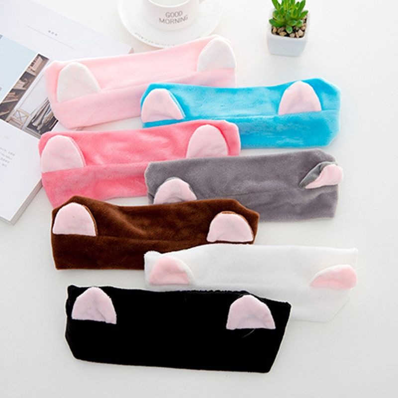 2020 New Cat Ears Hairband Head Band Party Gift Headdress Hair Accessories Makeup Tools