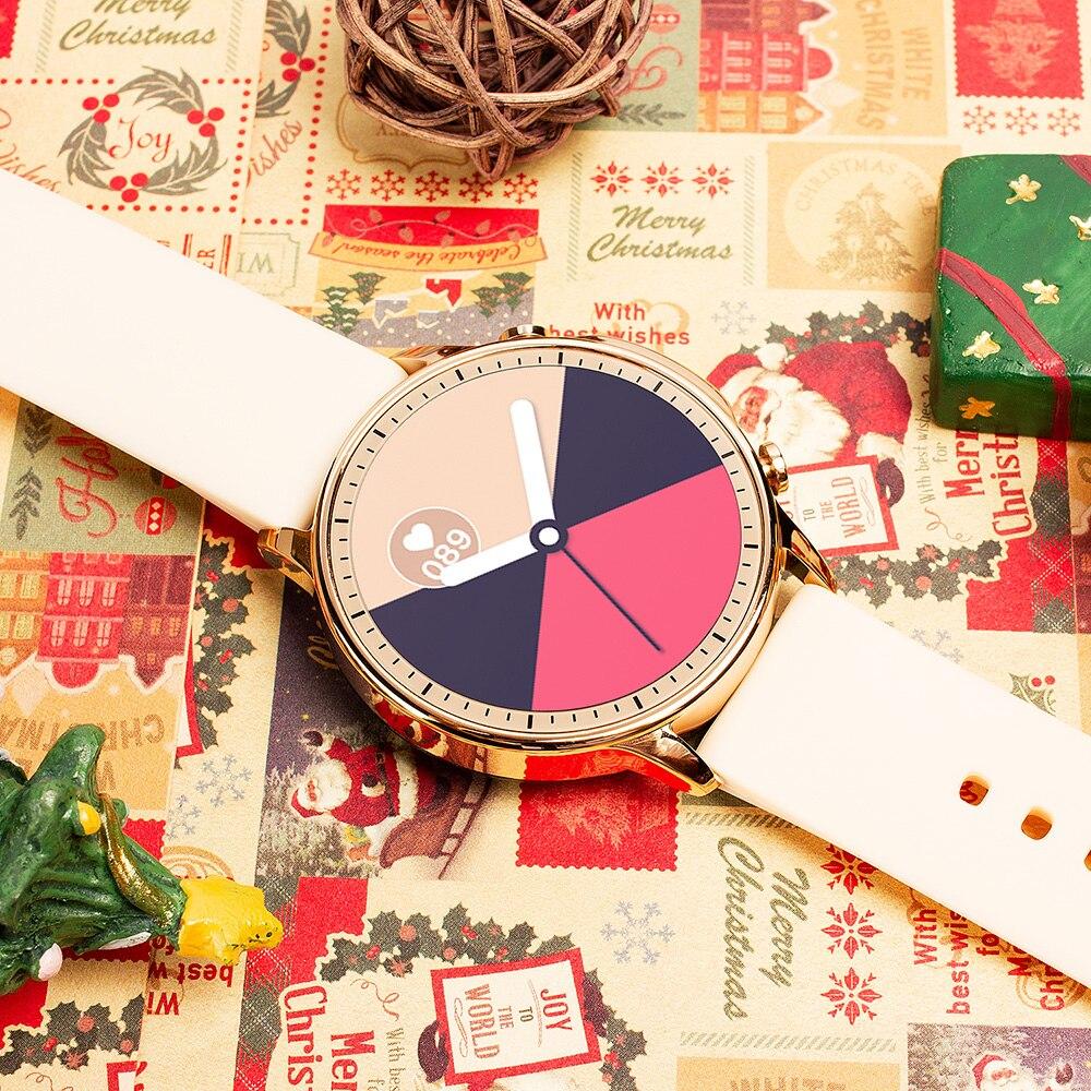 Hb7807a8ef0c442ac91545ff7a6e4407fb COLMI V23 Women Smart Watch Full Touch Fitness Tracker IP67 Waterproof Blood Pressure Smart Clock Men Smartwatch