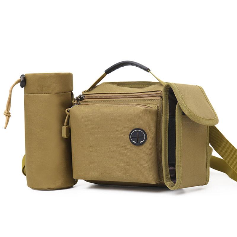 Многофункциональная сумка для рыбалки на открытом воздухе, военная тактическая сумка на плечо, сумка на талию, Портативная сумка на талию, С...