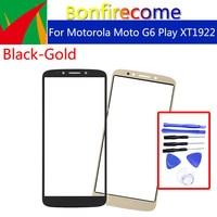 Pantalla táctil de 5,7 pulgadas para móvil, cristal exterior LCD para Motorola Moto G6 Play XT1922