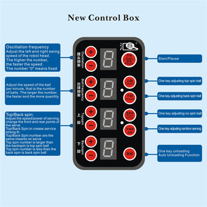 Image 4 - HUIPANG S6 PRO masa tenisi Robot/makine kolay mal uygulama için çok fonksiyonlu geri dönüşüm topları