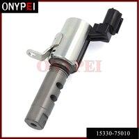 Válvula de controle variável do óleo do solenóide do sincronismo de 15330 75010 vvt para toyota tacoma 2.7l 05 11 1533075010|valve control|valve toyota|valve timing control -