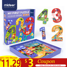 MiDeer Puzzles Educational Toys Box for Kids Digital Paper Creative Puzzle Children  2-4 Years