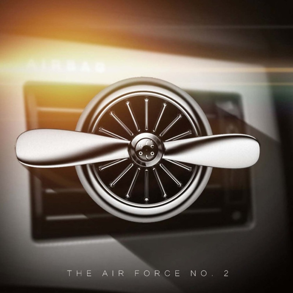 Car Air Freshener Propeller Design Air Force 2 Outlet Vent Clip Auto Aromatherapy Dispel Peculiar Styling Perfumes dropshipping