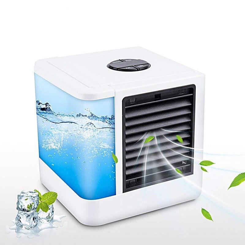humidificador por Agua Ventilador de Aire Adecuado para el hogar y la Oficina Lomsarsh Mini Aire Acondicionado Mini refrigerador de Aire USB Purificador de Aire y humidificaci/ón de refrigeraci/ón