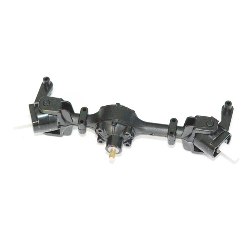 Metal Gear Sturdy Front Axle Assembly Spare Part for Wpl <font><b>Fy001</b></font> 1:16 Rc Truck Accessories Toys for Children Rc Car Parts image