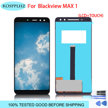 "6.01"" 2160*1080 For BLACKVIEW MAX 1 LCD Display And Touch Screen Assembly Repair Parts For blackview max1 phone + Tools"