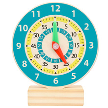 Clock-Toys Teaching-Aids Montessori-Materials Time Kids for Children