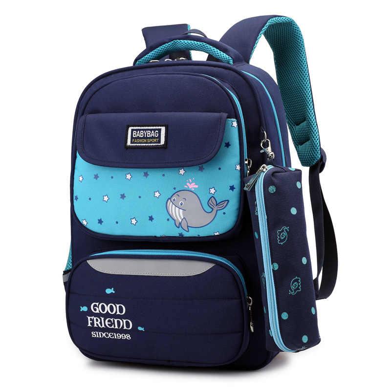Nowy Oxford torby szkolne dla chłopca luksusowa marka dzieci plecak japoński styl dziewczyna Student torba na książki dla dzieci duży podstawowym tornister