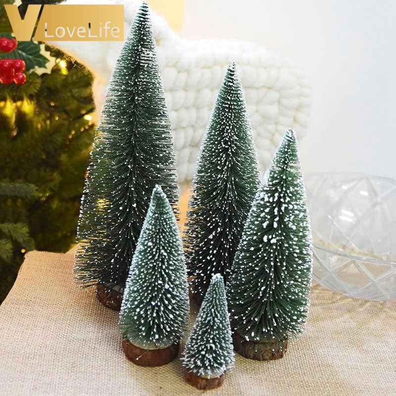 5 шт. Маленькая Рождественская елка «сделай сам» маленькая сосна маленькая елка Новогоднее украшение для детей подарок 2020 Рождественская д...