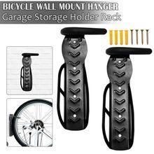 Bicycle Wall Hook Parking Rack Suspension Frame Mountain Bike Mount Garage Storage Bracket