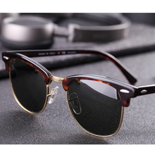 Real Glass lens UV400 men women Sunglasses 3016 retro driving Sun glasses Luxury desig Brand Rivet Design Goggles Elegant Female