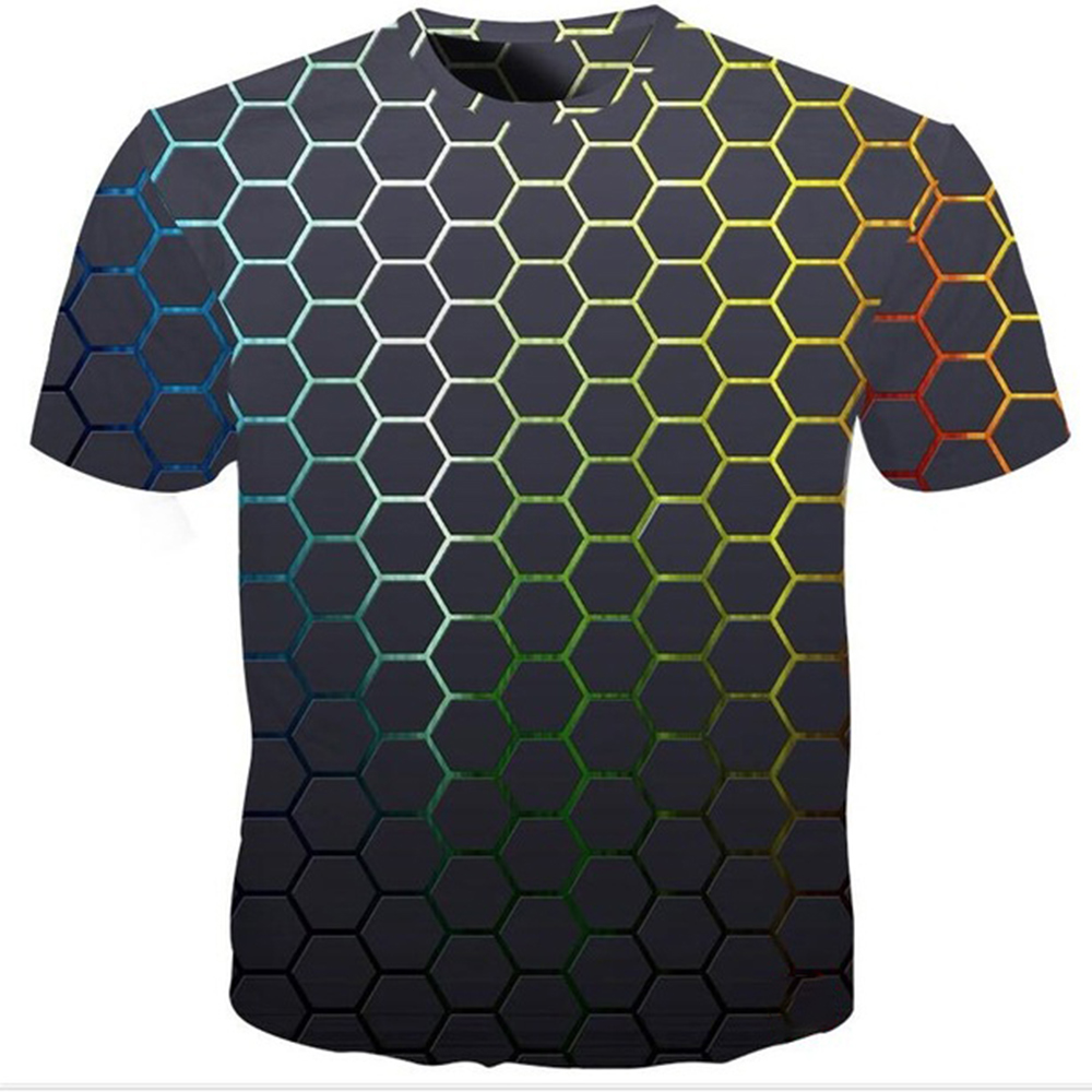 2019 Funny Printed Men T-shirt Casual Short Sleeve O-neck Fashion 3D T shirt Men/Woman Tees Top High Quality Brand Tshirt 1