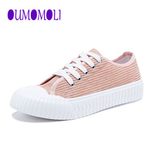 women Canvas Shoes 2020 Fashion Solid Color women