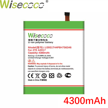 Wisecoco LI3931T44P8h756346 4200mAh New Battery For ZTE Axon 7 Battery 5.5inch A2017 Phone +Tracking Number wisecoco bv9000 2pcs 7150mah new produced battery for blackview bv9000 bv 9000 pro high quality phone battery replace tracking