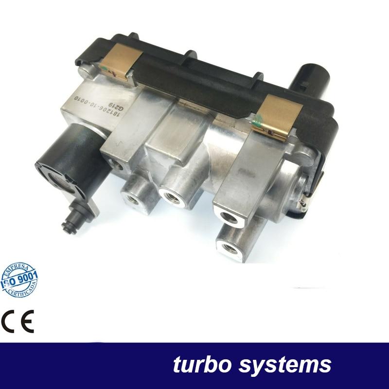 G-219 G219 Turbo Electronic Actuator 712120 6NW009420 Turbine Wastegate 757608 For Mercedes C-Klasse 320 CDI (W203) 165 Kw