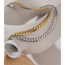 Necklace Jewelry Snake Chain Texture-Collar Stainless-Steel Metal Statement Yhpup