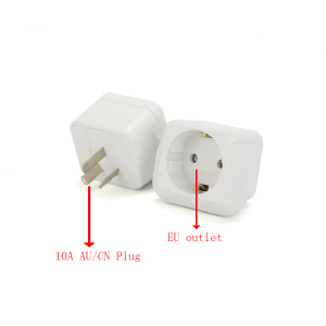 Image 2 - EU to CN plug Travel Power Adapter electric appliance adaptor German standard to China standard Converter Electrical Plug