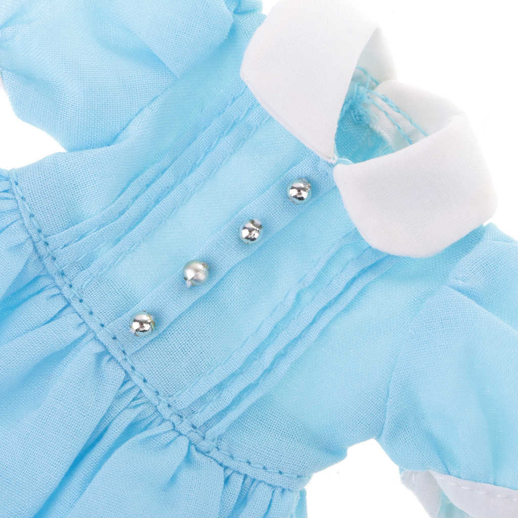 1/6 12 дюймовое Кукольное платье юбка Одежда для куклы блайз аксессуары ручной работы голубого цвета