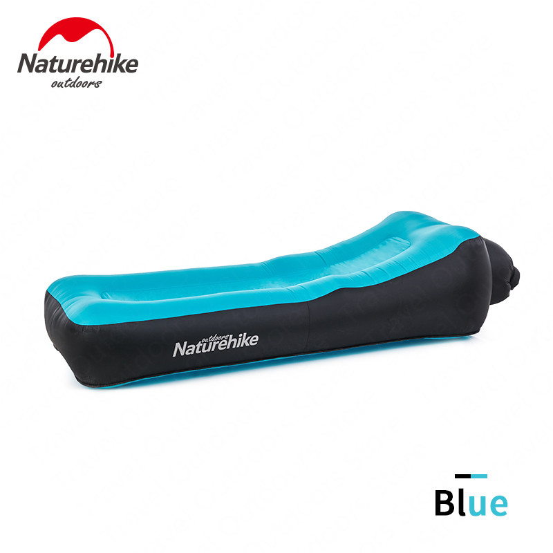 Naturehike Fast Inflatable Camping Sofa Ultralight Beach Air Bed Tear Risistant Lazy Sofa Portable Air Sofa Multifunctional