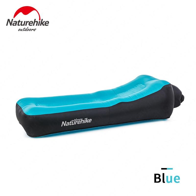 Naturehike Fast Inflatable Camping Sofa Ultralight Beach Air Bed Tear Risistant Lazy Sofa Portable Air Sofa Multifunctional