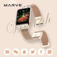 Fitness deportes banda 4 reloj inteligente Smartband reloj pulsera de Metal pulsera de mujer Anti-Mosquito correa de la cadena de oro ZL13