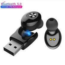 Bluetooth Draadloze Oortelefoon XG12 Stereo Earbus Oortelefoon Met Microfoon Handsfree Usb Sport Headset Voor Telefoon Voor Samsung Knoppen