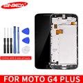"""5 5 """"1920x1080 Für Motorola Moto G4 Plus LCD Display Ersatz Touch Digitizer Rahmen XT1644 XT1642 für Moto g4 plus Pantalla-in Handy-LCDs aus Handys & Telekommunikation bei"""