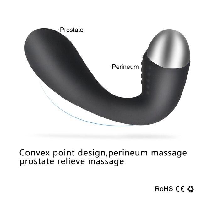 Prostata Vibrator Anal Plug Butt 2