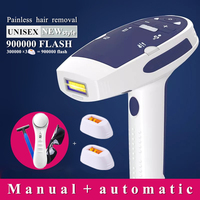 900000 flash IPL laser hair removal machine laser epilator hair removal Device permanent bikini trimmer depilador a laser women