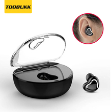X7 Mini Wireless TWS Bluetooth Earphone Romantic Heart-shaped Stereo Invisible Sports Headset For Mobile Phone With Charging Box 2018 new mini invisible wireless bluetooth earphone mini bluetooth headset wireless for phone with 700 mah charging box portable