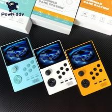 "POWKIDDY A19 ปรับปรุงโทรศัพท์มือถือเกมคอนโซล 3.5 ""IPS หน้าจอ 3D ใหม่เกม PSP Built in 3000 WIFI ดาวน์โหลด PANDORA กล่องเกม"
