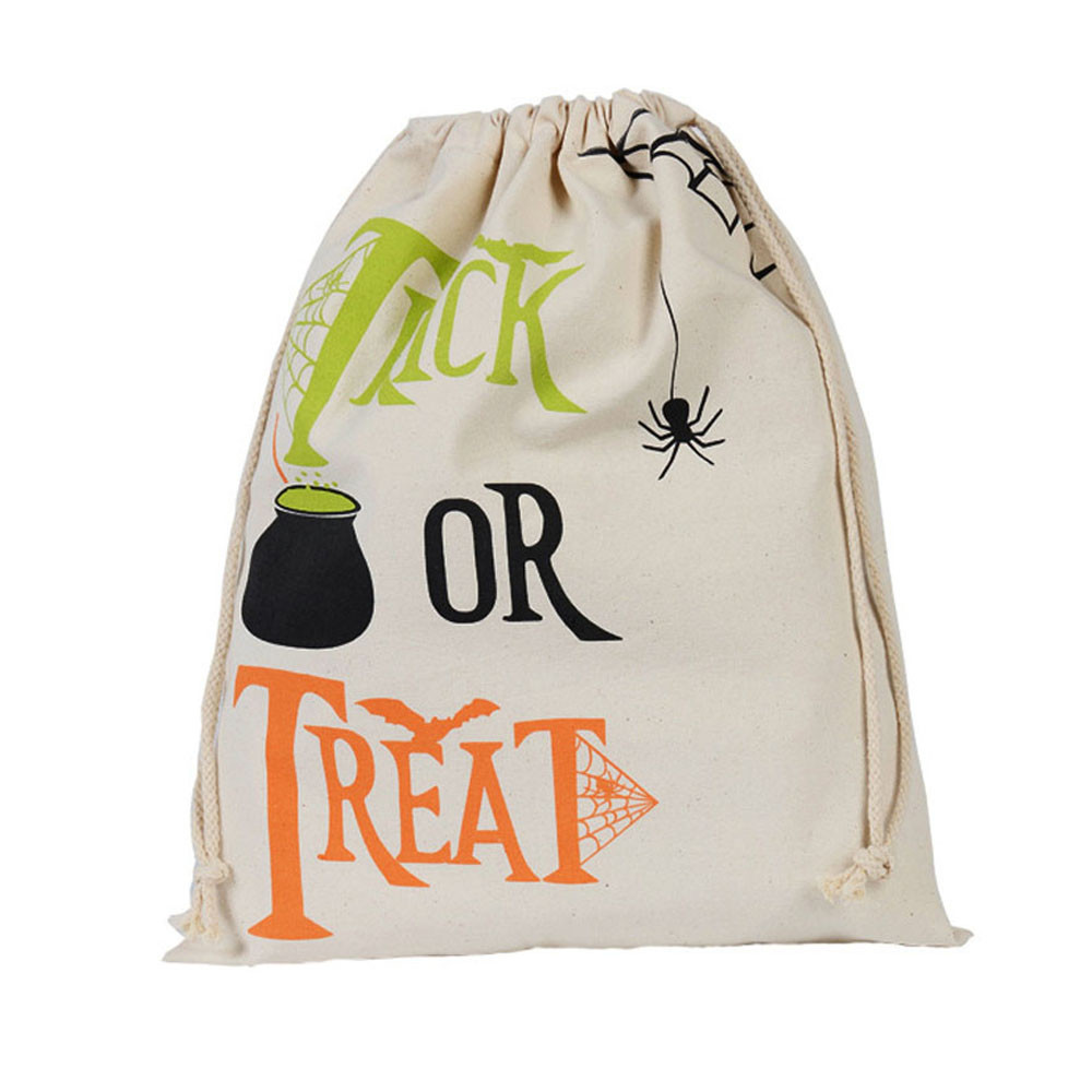 Sleeper #P501 2019 NEW FASHION Halloween Candy Bag Gift Bag Bundle Pocket Drawstring Storage Bag Travel Bag Gift Free Shipping