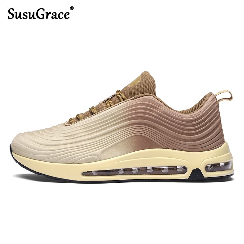SusuGrace Men's Running Shoes Women Sneakers Outdoor Air Cushion Boots Trekking Sport  Trainers Zoom Air Breathable For Unisex