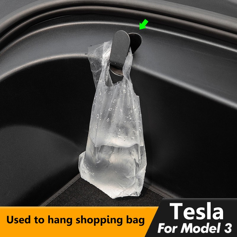 Front trunk hook Tesla model 3 accessories car tesla model 3 accessories model 3 tesla three tesla model 3 model3