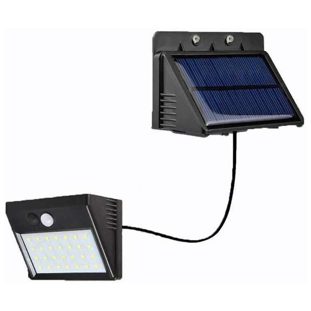 30 LED Solar Light Human Body Induction Wall Light Motion Sensor Street Lamp Induction Light