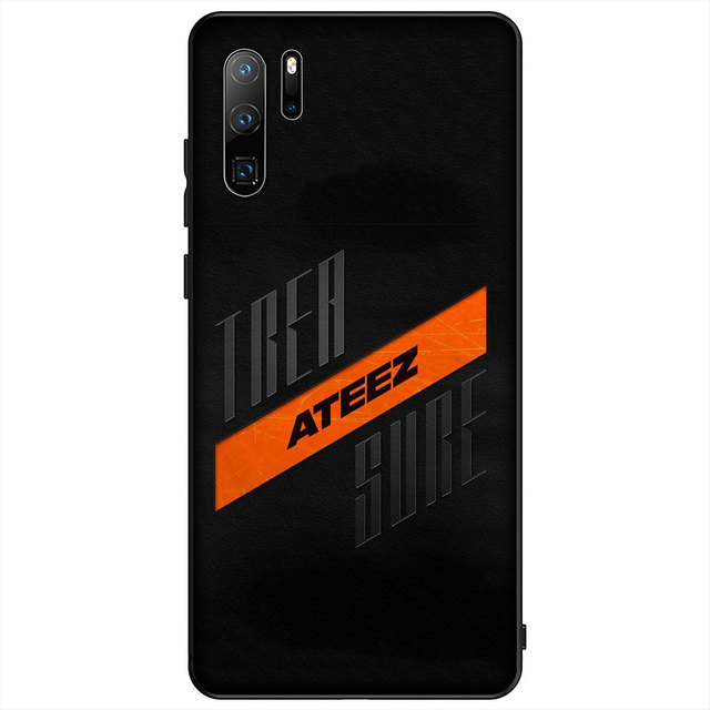 Kpop Ateez Logo Soft Silicone Case For Huawei P30 P20 Pro P10 P9 Lite Mini 2017 2016 Black Cover P Smart Z 2019 Fitted Cases Aliexpress